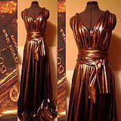 Одежда ручной работы. Ярмарка Мастеров - ручная работа Платье-трансформер в пол, платье вечернее. Handmade.