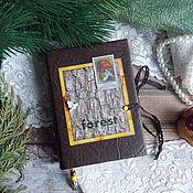 "Канцелярские товары ручной работы. Ярмарка Мастеров - ручная работа Блокнотик "" Forest "". Handmade."