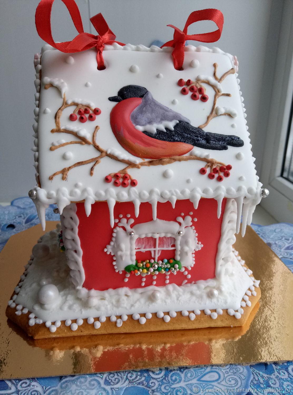 Пряничный новогодний домик, Пряники, Самара, Фото №1