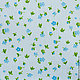 Шитье ручной работы. Ярмарка Мастеров - ручная работа. Купить Ткань Хлопок Цветок на голубом Тильда. Handmade. Хлопок, ткань