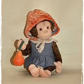 Куклы и игрушки ручной работы. Ярмарка Мастеров - ручная работа Груня. Handmade.