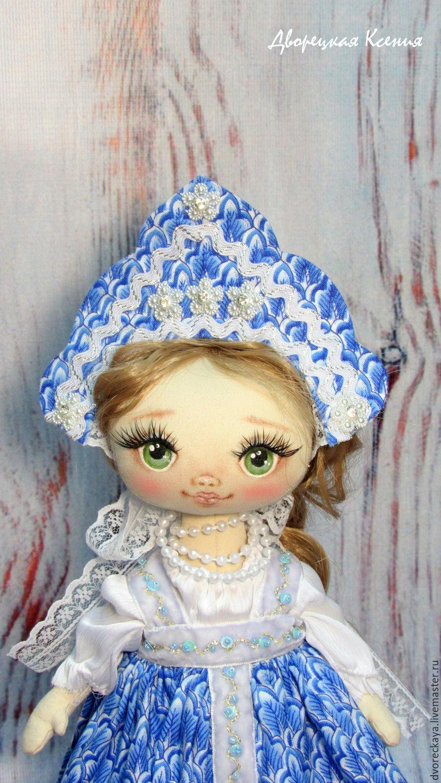 Кокошник для куклы своими руками выкройка