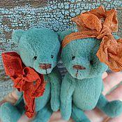 Куклы и игрушки ручной работы. Ярмарка Мастеров - ручная работа Парочка мишек. Handmade.