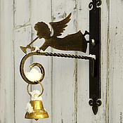 Изделия ручной работы. Ярмарка Мастеров - ручная работа кронштейн для кашпо и  колокольчика Мой ангел. Handmade.