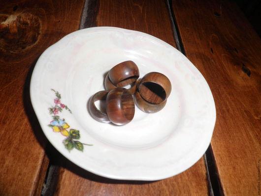 Кольца ручной работы. Ярмарка Мастеров - ручная работа. Купить Кольцо деревянное. Handmade. Коричневый, ручная работа, льняное масло