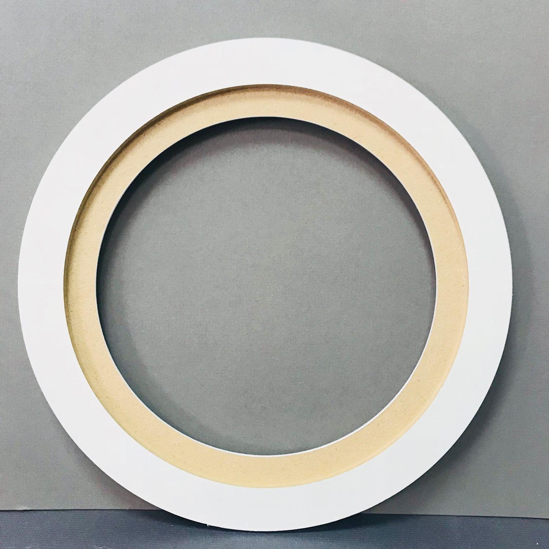 Как можно сделать фото в круглой рамке