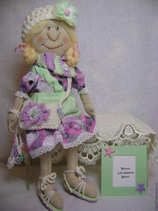 Коллекционные куклы ручной работы. Ярмарка Мастеров - ручная работа. Купить Воспоминания о море.... Кукла текстильная. Handmade. Примитив