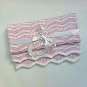 Для дома и интерьера ручной работы. Ярмарка Мастеров - ручная работа Плед одеяло детское плюшевое. Handmade.