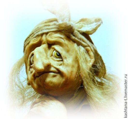"""Коллекционные куклы ручной работы. Ярмарка Мастеров - ручная работа. Купить кукла БАБА-ЯГА """"И где же мой Иванушка?"""". Handmade."""
