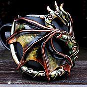 """Кружки ручной работы. Ярмарка Мастеров - ручная работа Кружка """"Эльфийский Дракон"""". Handmade."""