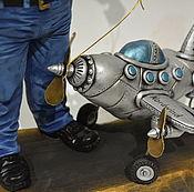 Куклы и игрушки ручной работы. Ярмарка Мастеров - ручная работа Портретная кукла .Подарок мужчине.Пилот.. Handmade.