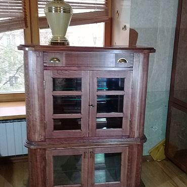 Мебель ручной работы. Ярмарка Мастеров - ручная работа Красивый шкаф,  ручная работа. Handmade.