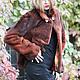 Верхняя одежда ручной работы. шубка из стриженной норки. Эльвира Шакирова    'ЭльВерсия'. Ярмарка Мастеров. Шубка, красивый, вискоза