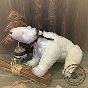 Куклы и игрушки ручной работы. Ярмарка Мастеров - ручная работа Полярный медведь Тильда. Handmade.