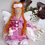 Куклы и игрушки ручной работы. Ярмарка Мастеров - ручная работа Сонный ангелочек Люси. Handmade.