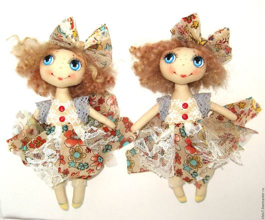 Коллекционные куклы ручной работы. Ярмарка Мастеров - ручная работа. Купить Лето ). Handmade. Комбинированный, лето 2016, куколка