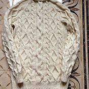 Свитеры ручной работы. Ярмарка Мастеров - ручная работа Мужской свитер. Handmade.