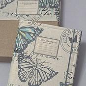 Канцелярские товары handmade. Livemaster - original item Album for the Young researcher herbarium (A4, 40 plants). Handmade.