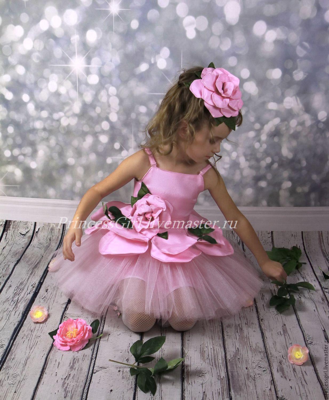 костюм цветочка для девочки своими руками
