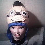 Шапки ручной работы. Ярмарка Мастеров - ручная работа Детская шапочка. Handmade.