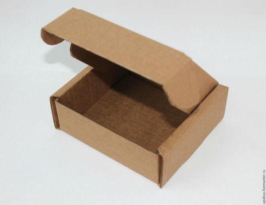 Упаковка ручной работы. Ярмарка Мастеров - ручная работа. Купить Картонная коробка 10x10x4 (100 шт.). Handmade. Гофрокартон