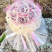 Букеты ручной работы. Ярмарка Мастеров - ручная работа Вечный букет из 7 роз «Амина». Handmade.