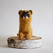 handmade. Livemaster - original item Toy made of wool Columns. Handmade.
