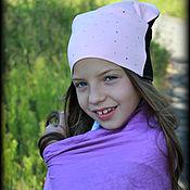 """Работы для детей, ручной работы. Ярмарка Мастеров - ручная работа Шапка для девочки """"Росинка"""". Handmade."""