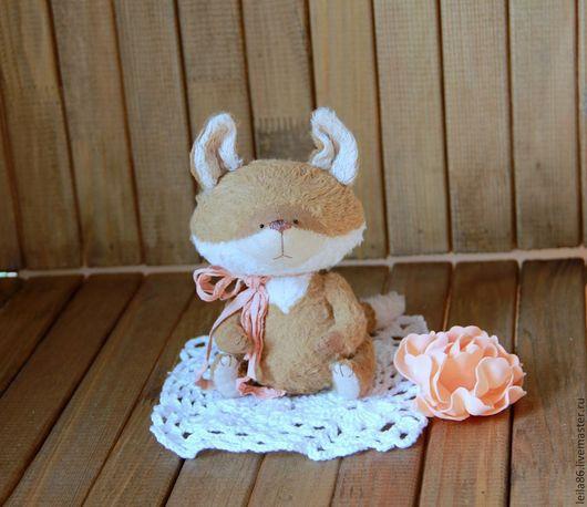 Мишки Тедди ручной работы. Ярмарка Мастеров - ручная работа. Купить Чайный Лисенок Тедди. Handmade. Оранжевый, лис тедди