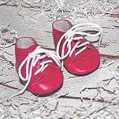 Куклы и игрушки ручной работы. Ярмарка Мастеров - ручная работа Обувь для кукол. Ботиночки 7 см. Handmade.