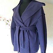 Одежда ручной работы. Ярмарка Мастеров - ручная работа летнее-пальто с капюшоном. Handmade.
