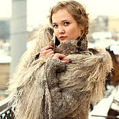 Одежда handmade. Livemaster - original item The author`s coat by hand On the wings of love. Handmade.