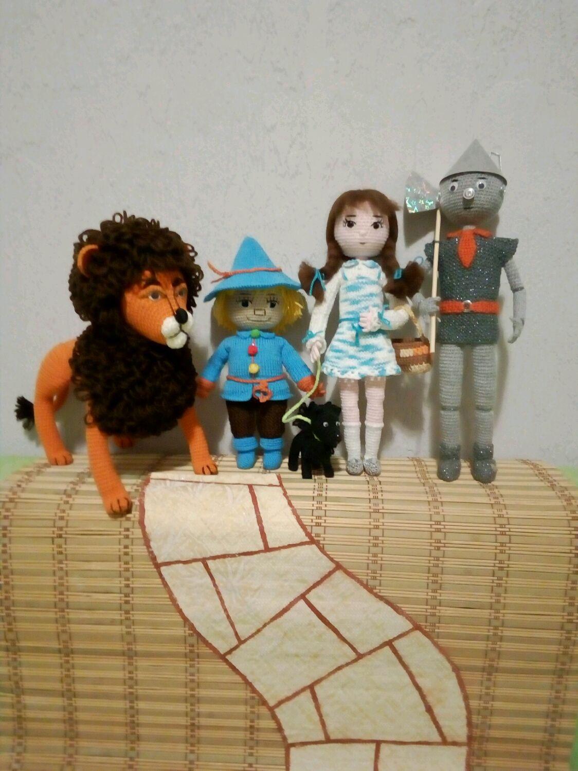 Волшебник Изумрудного города, Амигуруми куклы и игрушки, Калининград,  Фото №1