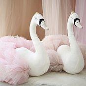 Куклы и пупсы ручной работы. Ярмарка Мастеров - ручная работа Принцесса-лебедь. Handmade.