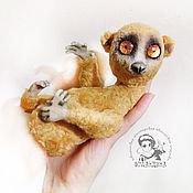 Куклы и игрушки handmade. Livemaster - original item Teddy lemurchik Lori. Handmade.