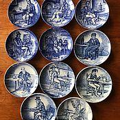 handmade. Livemaster - original item Decorative plates