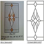 Дизайн и реклама ручной работы. Ярмарка Мастеров - ручная работа Эскизы для витражей. Handmade.