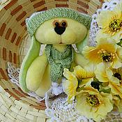Куклы и игрушки ручной работы. Ярмарка Мастеров - ручная работа Желтый зайка. Handmade.