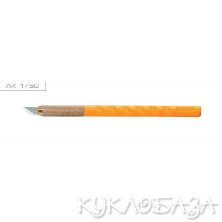 Нож OLFA перовой AK-1 с лезвием КВ, 6мм