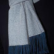 Шарфы ручной работы. Ярмарка Мастеров - ручная работа Тканый мериносовый шарф ручной работы. Handmade.