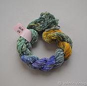Материалы для творчества handmade. Livemaster - original item Silk chenille (no. №24). Handmade.