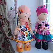 Куклы и игрушки ручной работы. Ярмарка Мастеров - ручная работа Текстильная интерьерная кукла ручной работы. Handmade.