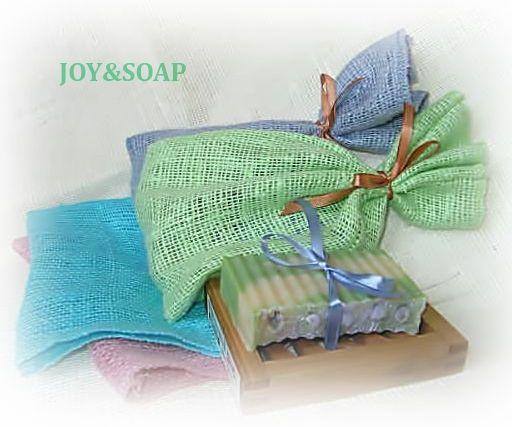 Подарочная упаковка мыла Joysoap с деревяной мыльницей