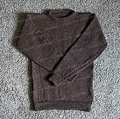 Одежда handmade. Livemaster - original item Sweater knitted of 100% sheep wool (No. №25). Handmade.