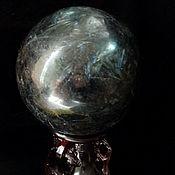 Фен-шуй и эзотерика ручной работы. Ярмарка Мастеров - ручная работа Шар из нуумита Звездная ночь 57 мм. Handmade.