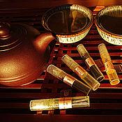 Косметика ручной работы. Ярмарка Мастеров - ручная работа Лимитированная чайная коллекция натуральных духов. Handmade.