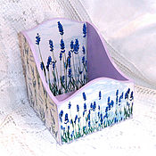 Для дома и интерьера handmade. Livemaster - original item Box for spices, the Smell of Lavender. Handmade.