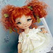 Куклы и игрушки ручной работы. Ярмарка Мастеров - ручная работа Маруся. Текстильная кукла.. Handmade.