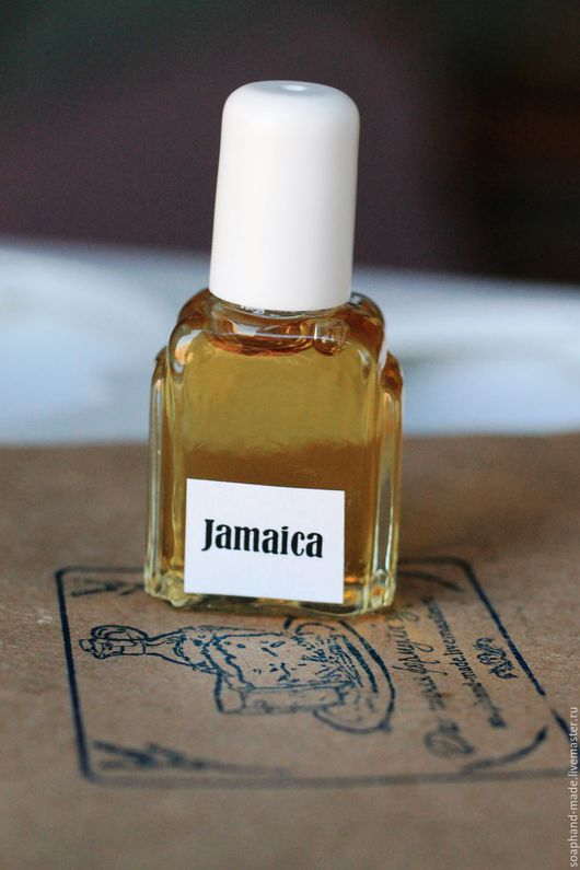 """Натуральные духи ручной работы. Ярмарка Мастеров - ручная работа. Купить """"Jamaica"""" авторские духи. Handmade. Бежевый, духи натуральные"""