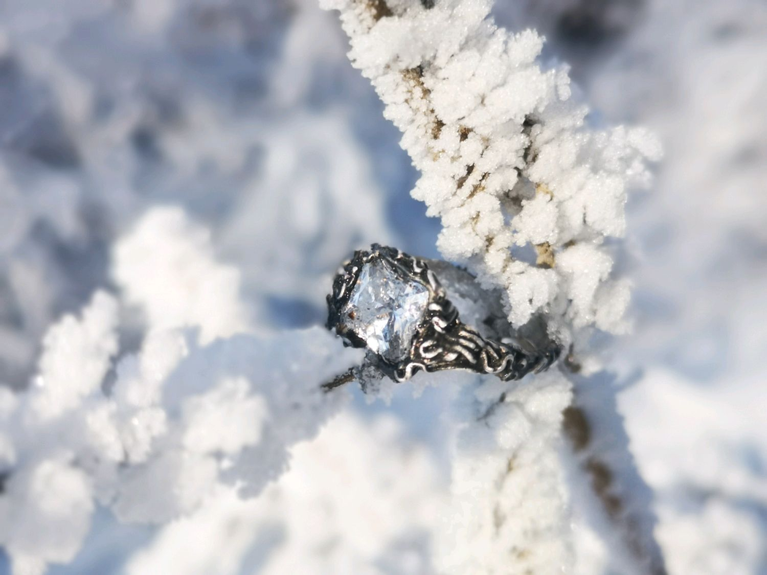 Ring 'The Ice Of Lake Baikal', Rings, Rostov-on-Don,  Фото №1